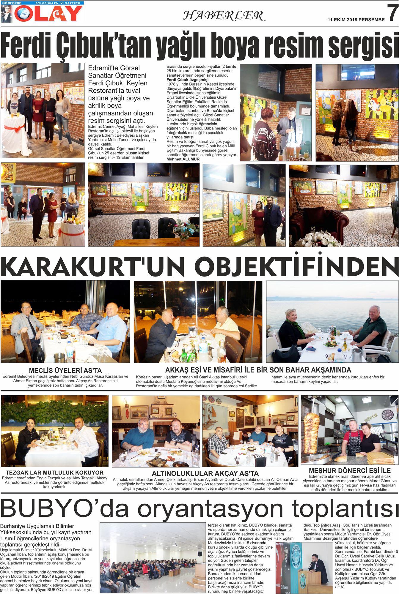 22 Haziran 2012 Gazetemiz Foto Galeri Edremit Olay Gazetesi